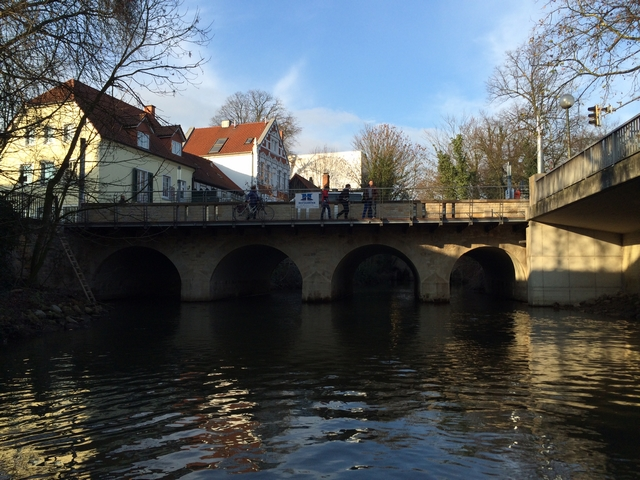 Umbau der Angersbrücke über die Hase