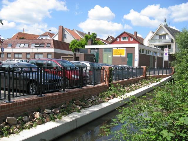 Neubau Stützwand und Ufergestaltung Quakenbrück